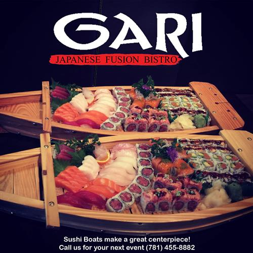 Gari Sushi Boats!