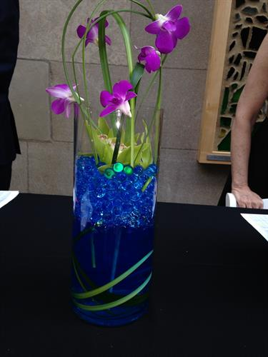 Centerpieces for Mayyim Hayyim Event, May 2014