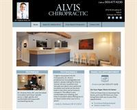 Portland Chiropractor, ALVIS Chiropractic, WordPress website
