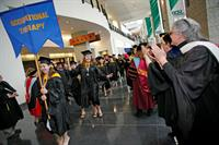 Worcester State University Graduation Procession