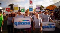 Team GSDBA at San Diego AIDS Walk 2014