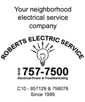 Your neighborhood electrical service since 1985!