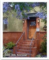 Front Entrance on Fourth @Redwood