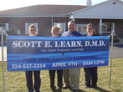 Free Oral Cancer Screening Event 2014