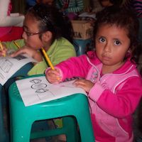 Feeding the malnourished in Peru