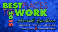 2015 Huntsville/Madison Chamber of Commerce Best Places to Work Award Winner