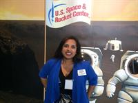 Nexus Executive Director Ruchi Singhal at our new home, the USSRC