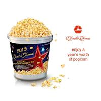 The Carmike Cinemas annual popcorn bucket makes an excellent purchase for any movie goer!