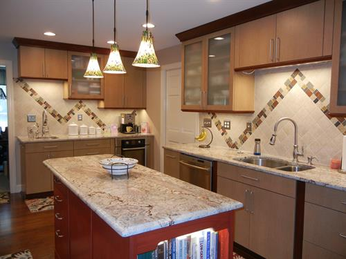 Backsplash with oomph