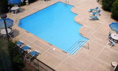 Hampton Inn Outdoor Pool