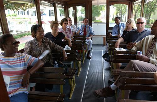 Take a wonderful Trolley Tour.