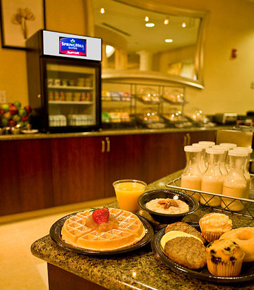 Complimentary Hot Breakfast Buffet