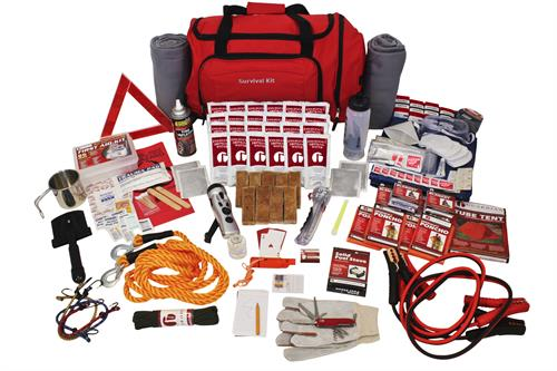 Survival kits for home, auto, children, pets preppers and more