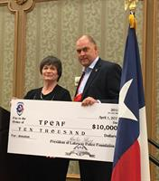 Donation to Texas Police Chief Association 2015