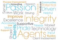 We have Core Values that each of our Agent's Embraces