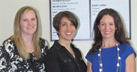 Dr. Melody Vander Straten, Dr. Theresa Willis and Dr. Ana Urukalo