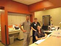 Our friendly podiatry staff