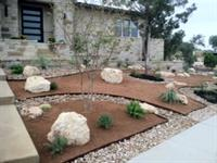 Drought Tolerant Design and Installation Rough Hollow