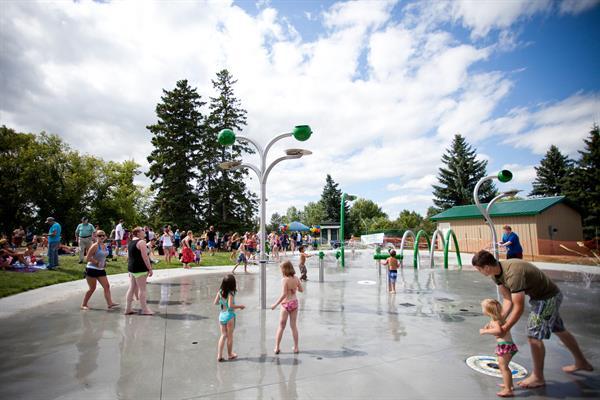Rotary Spray Park