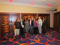 meeting with executives at Mohegan Sun