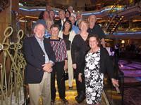 Cruise group on Royal Caribbean