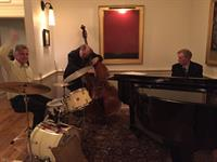 Jazz in the lobby.