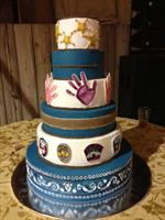 "Cowboys for Kids ""Celebration"" Cake"