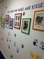Therapy Dog Hallway