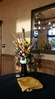 Dramatic event flowers