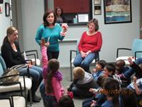 Teaching school age children about oral hygiene