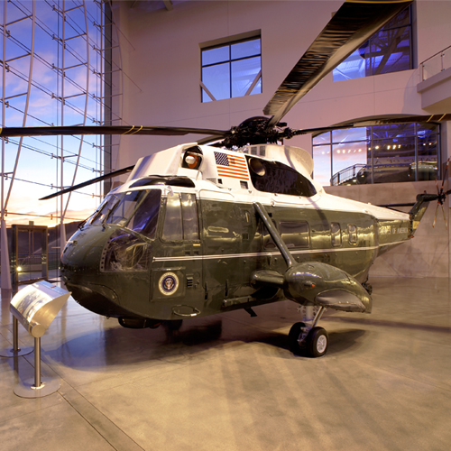 Tour Through Marine One at the Reagan Library