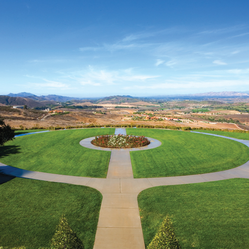 Enjoy Beautiful Landscaped Grounds at the Reagan Library