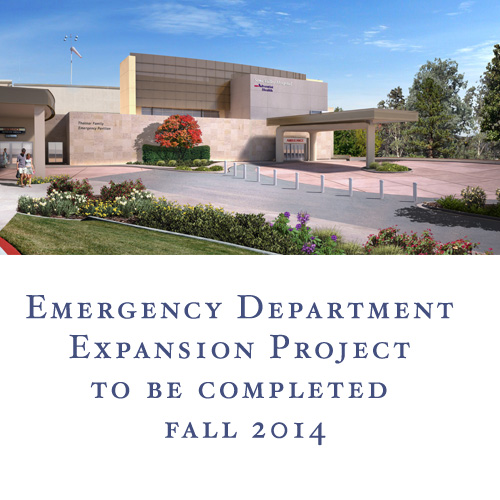 Emergency Department Expansion to be Completed Fall 2014