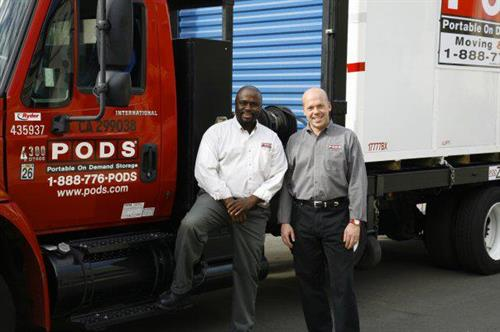 Al Jonas, PODS Vice President of Regional Operations, and Steve Yapp, PODS of Tri-Counties Owner