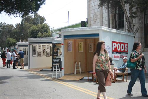 15 PODS Pop-Up Galleries were showcased during ArtWalk Ventura