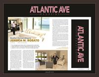 Featured article in the Atlantic Avenue Magazine