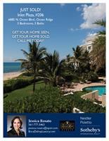 Direct oceanfront condo sold in Ocean Ridge, Florida