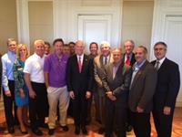 PB Board with Governor Scott