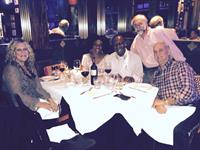 36th Anniversry Dinner at Caffe Luna Rosa