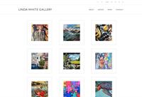 Linda White Gallery responsive website
