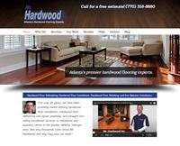 Mr. Hardwood responsive website