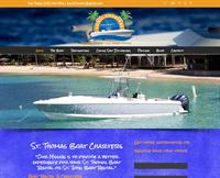 Sonic Charters responsive website
