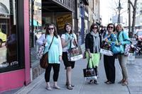 Shopping Fun at Ladies Day Downtown!