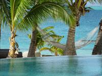 Tahiti - Pool, Hammock, Beach or Ocean.  Tough decision of the Day