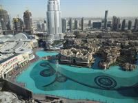 Dubai - From the top of Burj Kahlifa - an amazing place on earth