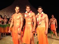 The men of Tahiti