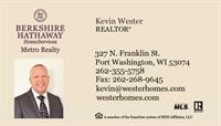 Kevin Wester - Business Card