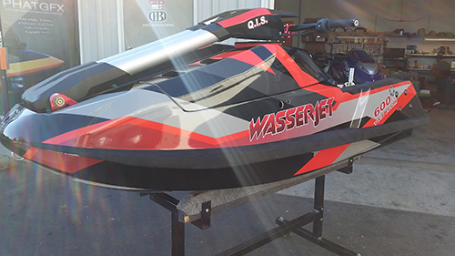 Wasserjet Jet Ski Wrap