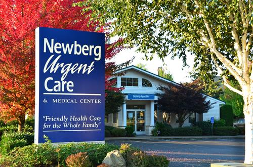 Newberg Urgent Care...fall morning.