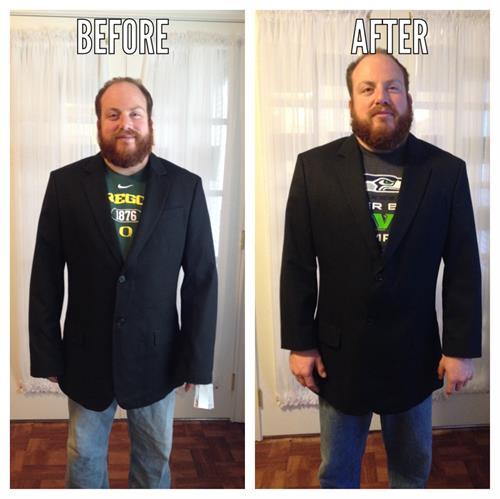 Men's Suit Coat- Shorten Sleeves and Taper Side Seams